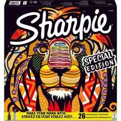 Sharpie - Sharpie Permanent Marker Karışık Kutu Aslan 26lı 2110123