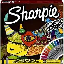 Sharpie - Sharpie Permanent Marker Karışık Kutu Gergedan 20li 2110122