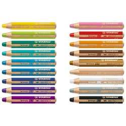 Stabilo - Stabilo Multi Talented Pencils 3 in 1 Kuru Boya Seti (1)