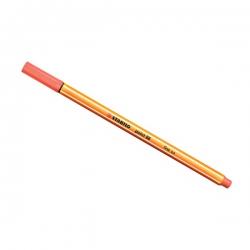 Stabilo - Stabilo Point 88 İnce Keçe Uçlu Kalem-Apricot