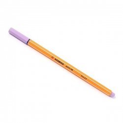 Stabilo - Stabilo Point 88 İnce Keçe Uçlu Kalem-Light Lilac