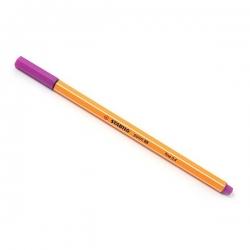 Stabilo - Stabilo Point 88 İnce Keçe Uçlu Kalem-Lilac