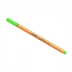 Stabilo - Stabilo Point 88 İnce Keçe Uçlu Kalem-Neon Green