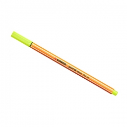 Stabilo - Stabilo Point 88 İnce Keçe Uçlu Kalem-Neon Yellow