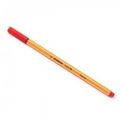 Stabilo - Stabilo Point 88 İnce Keçe Uçlu Kalem-Red