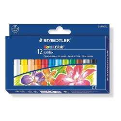 Staedtler - Staedtler Noris Jumbo Yağlı Pastel Boya 12li 243 NC12