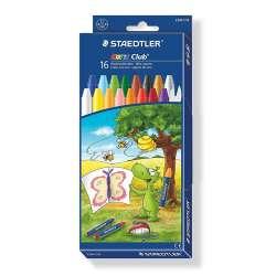 Staedtler - Staedtler Noris Wax Crayons Pastel Boya 16lı 2240 C16