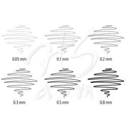 Staedtler - Staedtler Pigment Liner Siyah Çizim Kalemi 4+2 Set (1)
