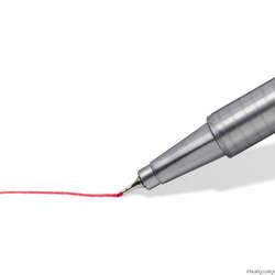 Staedtler - Staedtler Triplus Fineliner İnce Uçlu Keçeli Kalem 0.3mm 15li Kalpli Kutu (1)