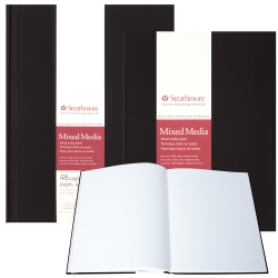 Strathmore - Strathmore Mixed Media Hardbound 190 gr 500 Series