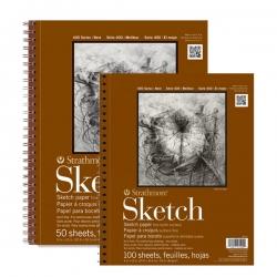 Strathmore - Strathmore Sketch Spiralli Blok 89 g 400 Series