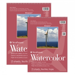Strathmore - Strathmore Windpower Watercolor Cold Press 15 Yaprak 300g