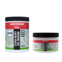 Talens - Talens Amsterdam Extra Heavy Gel Medıum Gloss 021