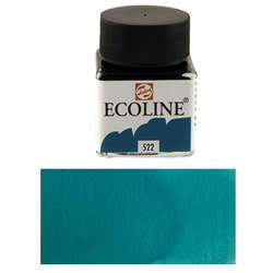 Talens - Talens Ecoline 30ml Turquoise Blue No:522