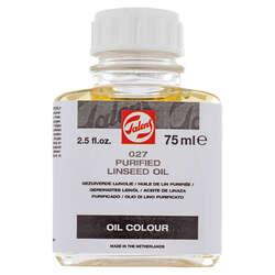 Talens - Talens Purified Linseed Oil Saf Keten Yağı 027 75ml
