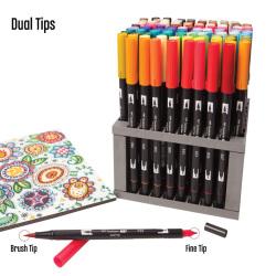 Tombow - Tombow Dual Brush Marker Kalemi (1)