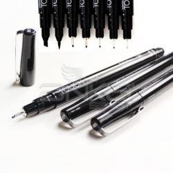 Touch - Touch Liner Siyah Teknik Çizim Kalemi