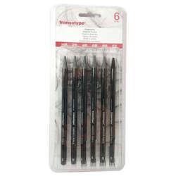 Transotype - Transotype Woodless Pencil Grafit Kalem Seti 6lı