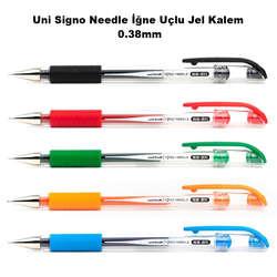 Uni - Uni Signo Needle İğne Uçlu Jel Kalem 0.38mm