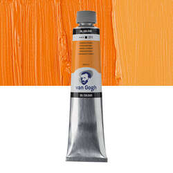 Van Gogh - Van Gogh Yağlı Boya 200ml Seri:2 No:211 Cadmium Orange