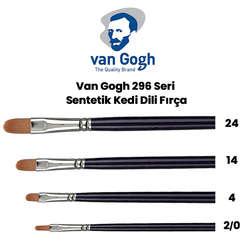 Van Gogh - Van Gogh 296 Seri Sentetik Kedi Dili Fırça