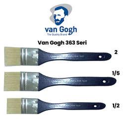 Van Gogh - Van Gogh 363 Seri Beyaz Kıl Vernik Fırçası