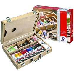 Van Gogh - Van Gogh Akrilik Boya Ahşap Kutulu Basic Set 22840513