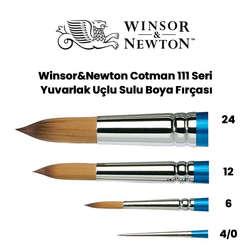 Winsor & Newton - Winsor&Newton 111 Seri Cotman Sulu Boya Fırçası