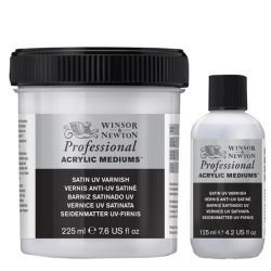 Winsor & Newton - Winsor&Newton Professional Acrylic Satin UV Varnish