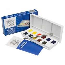 Winsor & Newton - Winsor&Newton Cotman Sketchers Sulu Boya 12 Renk 1/2 Tablet