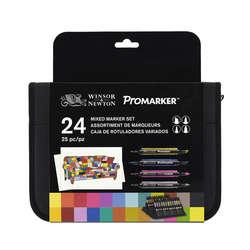 Winsor & Newton - Winsor&Newton Promarker 24lü Mixed Set
