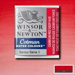 Winsor & Newton - Winsor&Newton Cotman Tablet Sulu Boya No:103 Cadmium Red Pale Hue