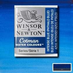 Winsor & Newton - Winsor&Newton Cotman Tablet Sulu Boya No:327 Intense Blue