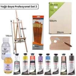 Anka Özel Ürün - Yağlı Boya Profesyonel Set 3 YP-3