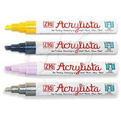 Zig - Zig Acrylista Markör Kesik Uç PAC-50 6mm Akrilik Marker Kalem