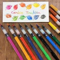 Zig - Zig Cambio Tambien Medium Brush Tip Fırça Uçlu Kalem