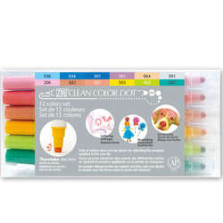 Zig - Zig Clean Color Dot Çift Uçlu Marker Kalem 12li Set