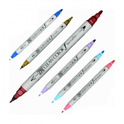 Zig - Zig Clean Color f Çift Uçlu Marker Kalem