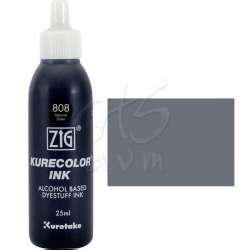 Zig - Zig Kurecolor Refill Ink Mürekkep 808 Natural Gray 25ml