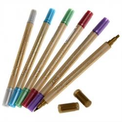 Zig - Zig Metalik Çift Uçlu Kaligrafi Kalemi 2mm & 3.5mm