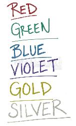 Zig - Zig Writer Metallic Colours Çift Uçlu Marker Kalem (1)